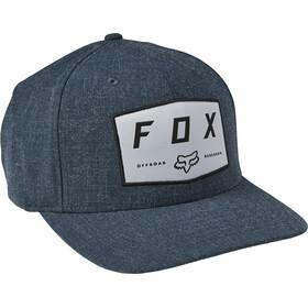 Fox Badge Flexfit Mütze Herren blau